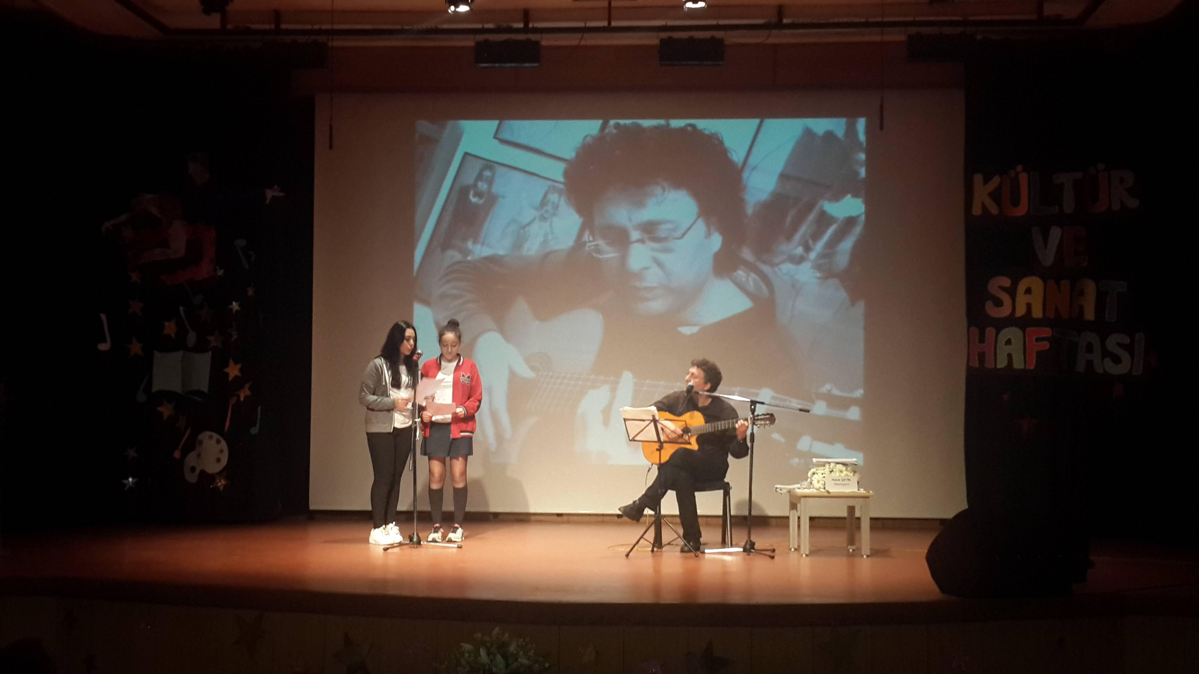 Müzisyen Haluk Çetin Öğrencilerimizle Buluştu