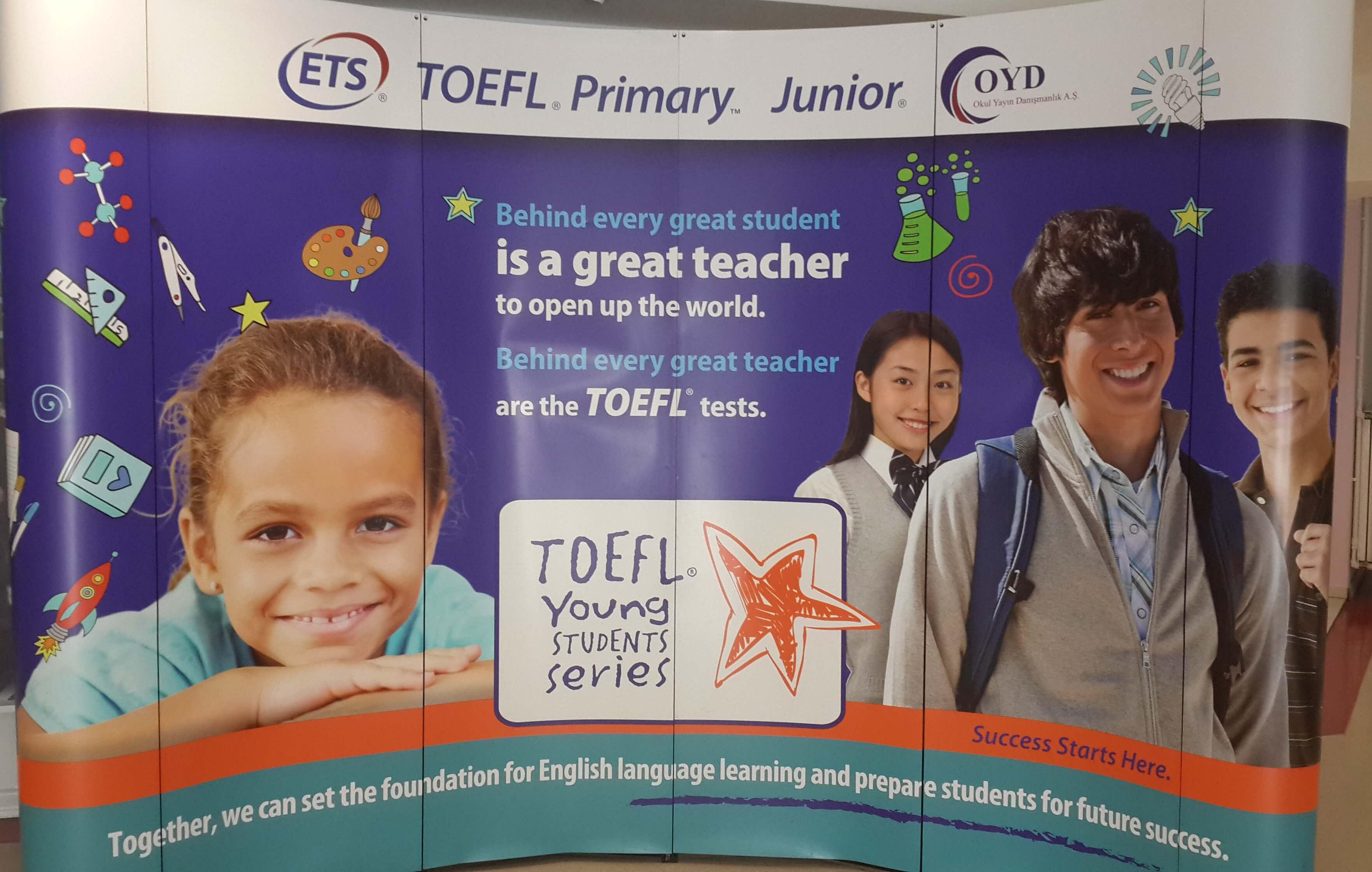 Öğrencilerimiz TOEFL Sınavlarına Katıldılar