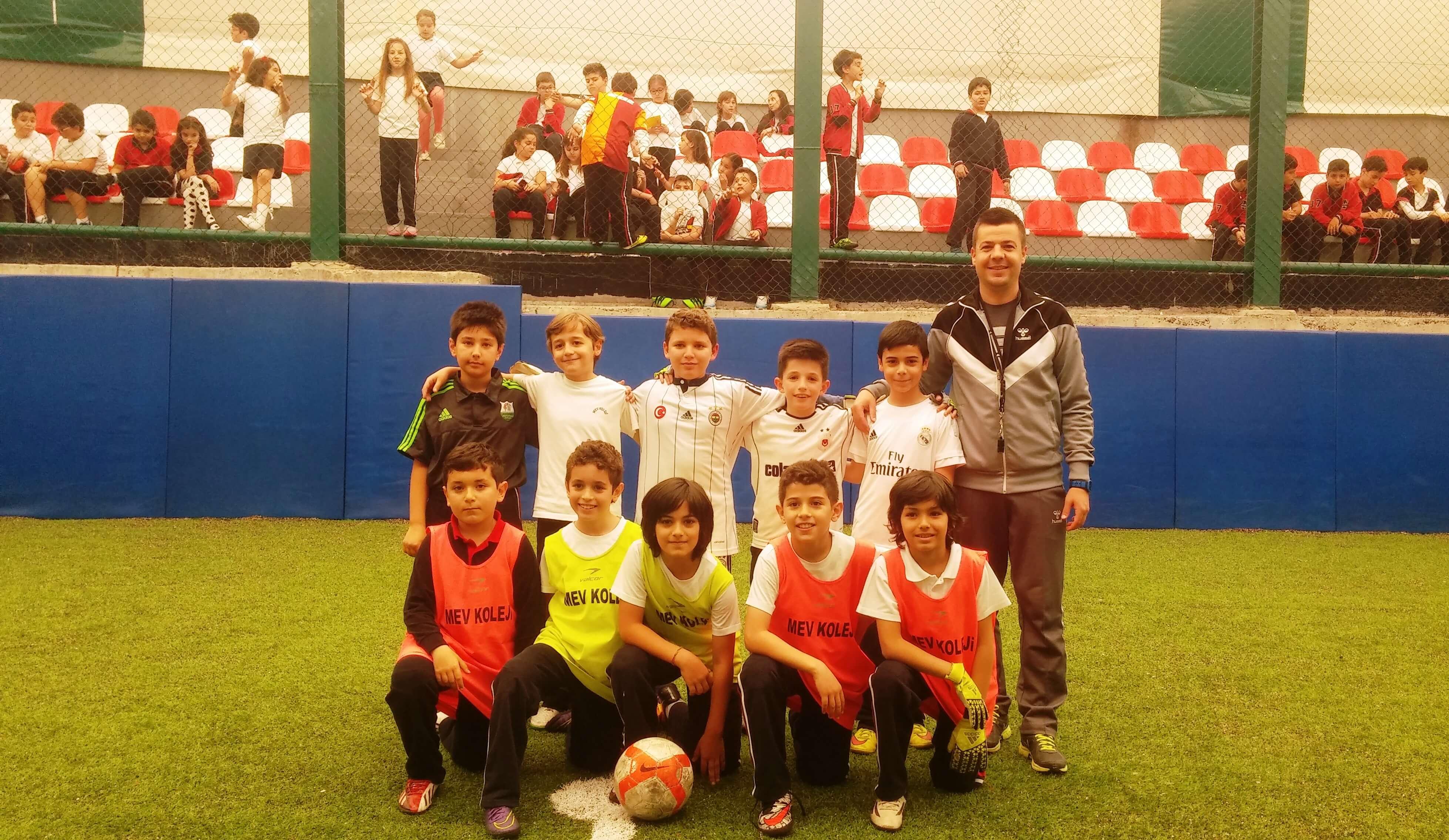 4. Sınıflar Turnuva Şampiyonu 4-C Sınıfı
