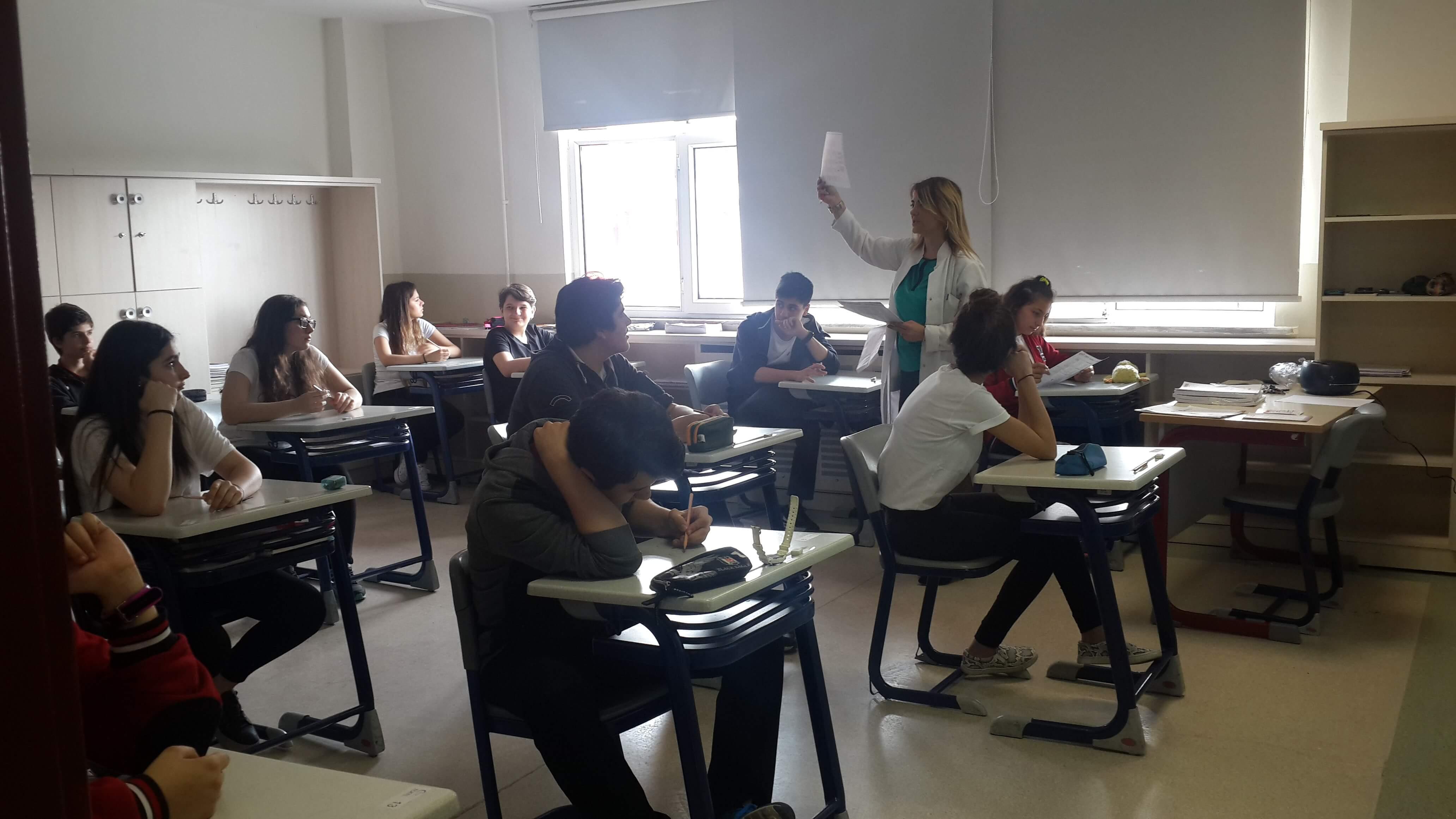 Anadolu Lisesi TOEFL Sınavı