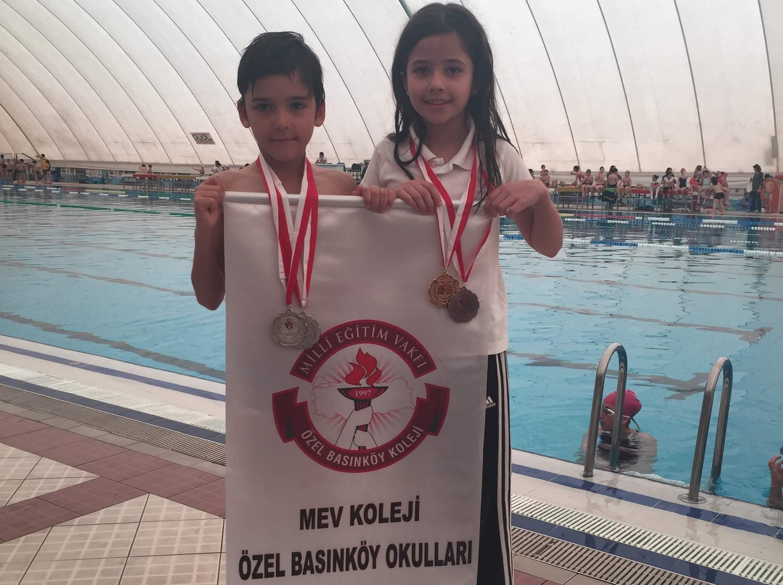 Yüzme Şampiyonasında Madalyaları Topladık