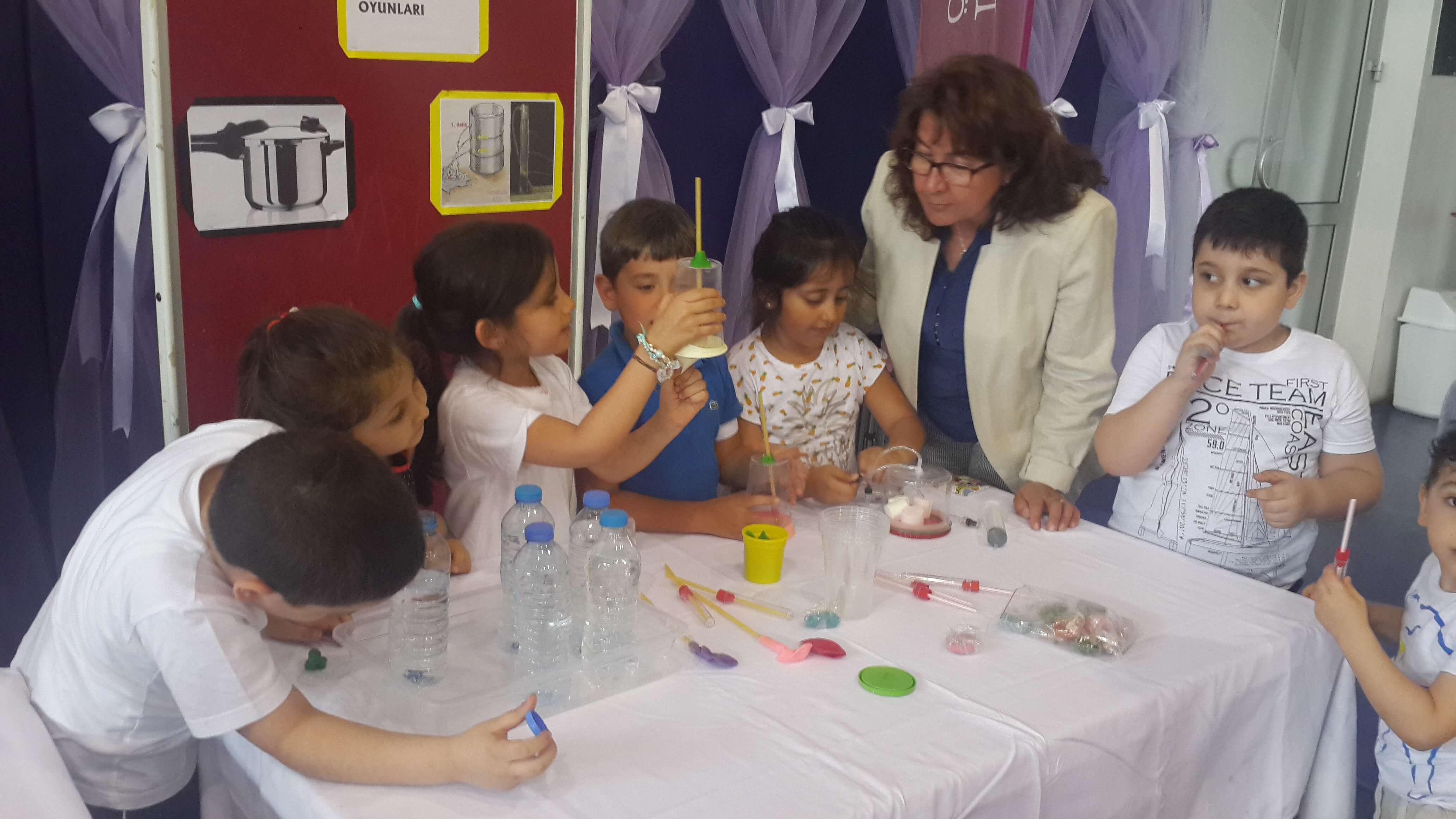 Öğrencilerimiz Minik Bilim İnsanı Sertifikalarını Aldı