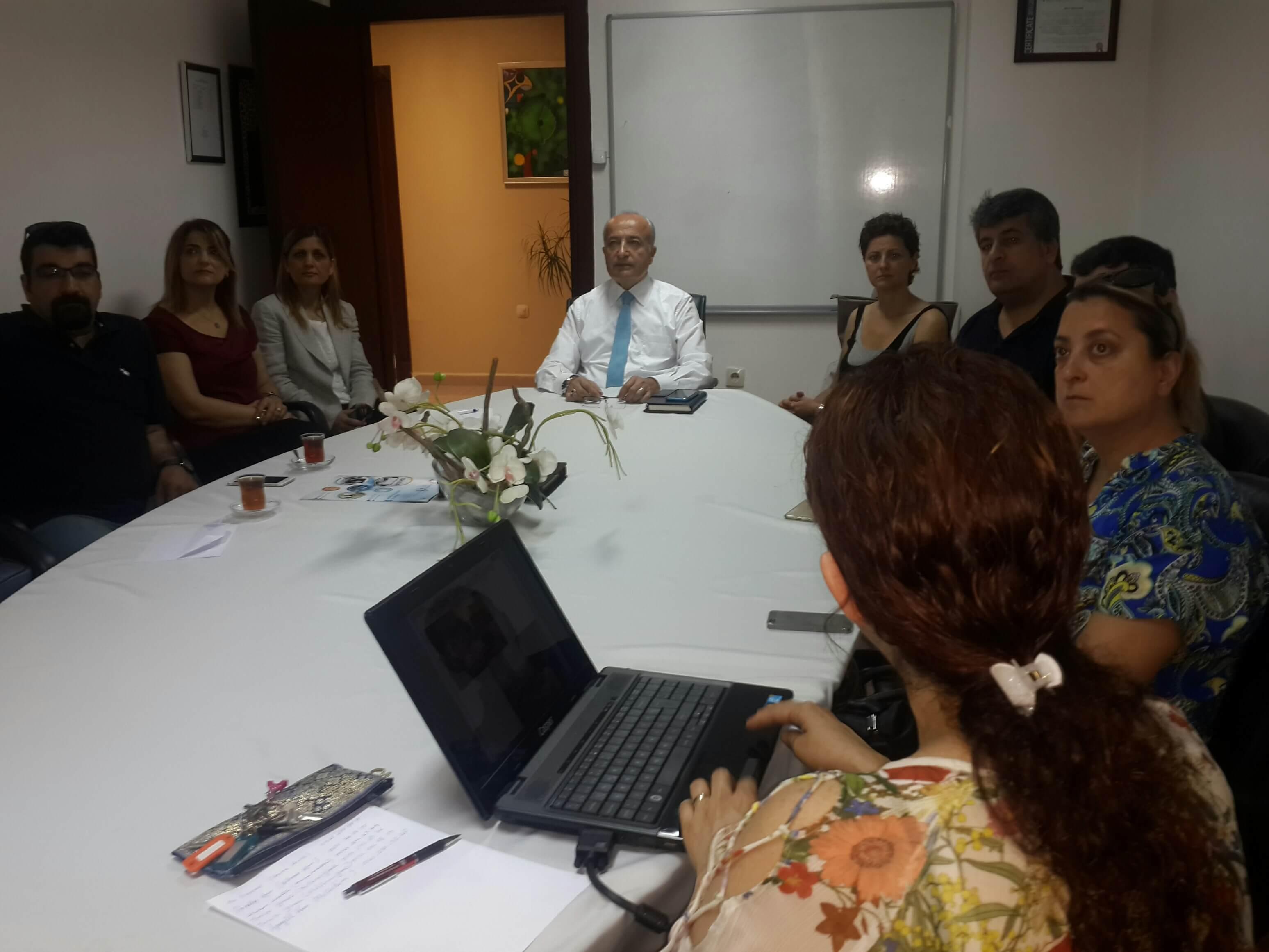 Erasmus Plus Proje Toplantısı