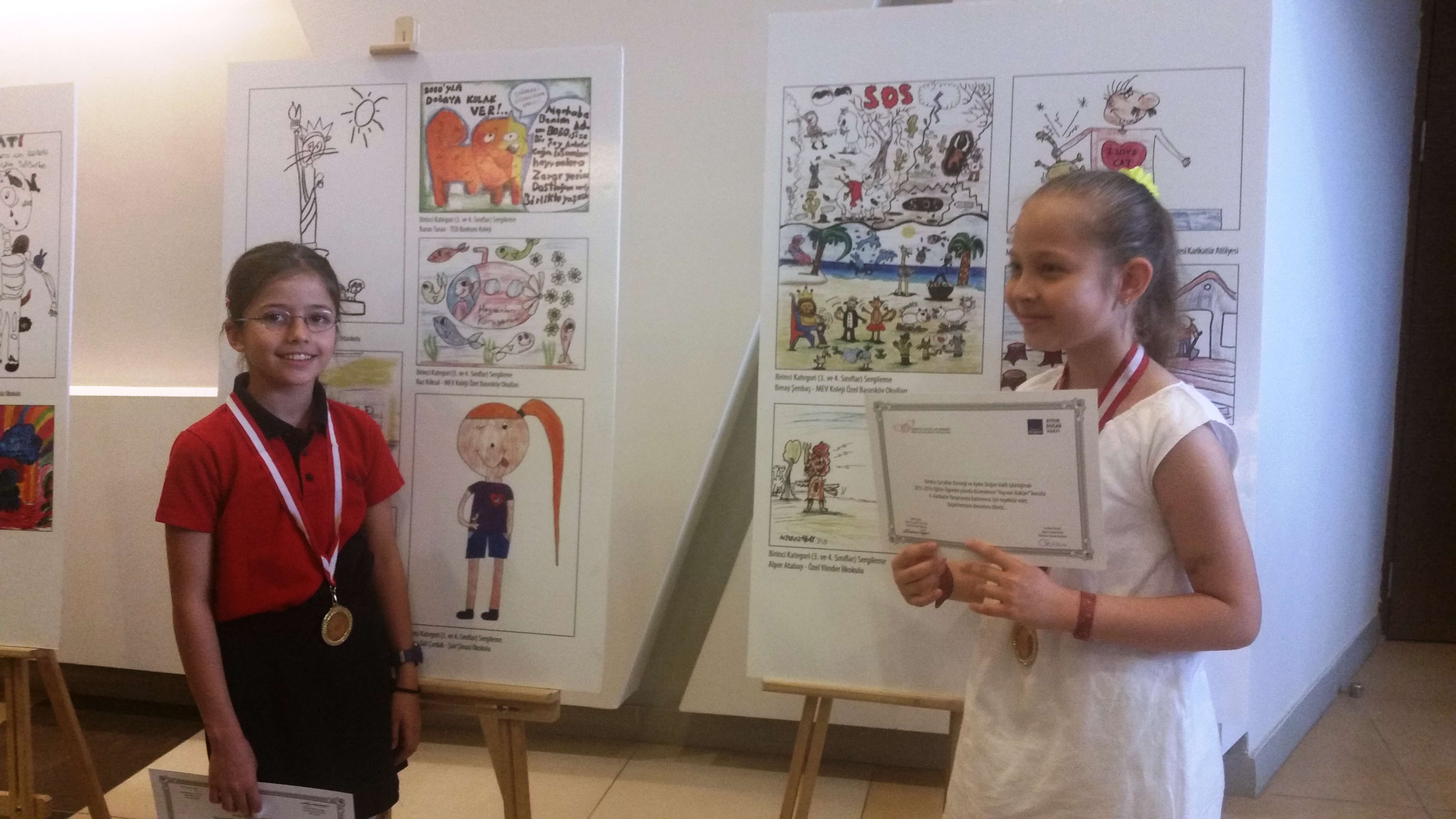 Yaratıcı Çocuklar Derneği Karikatür Yarışması
