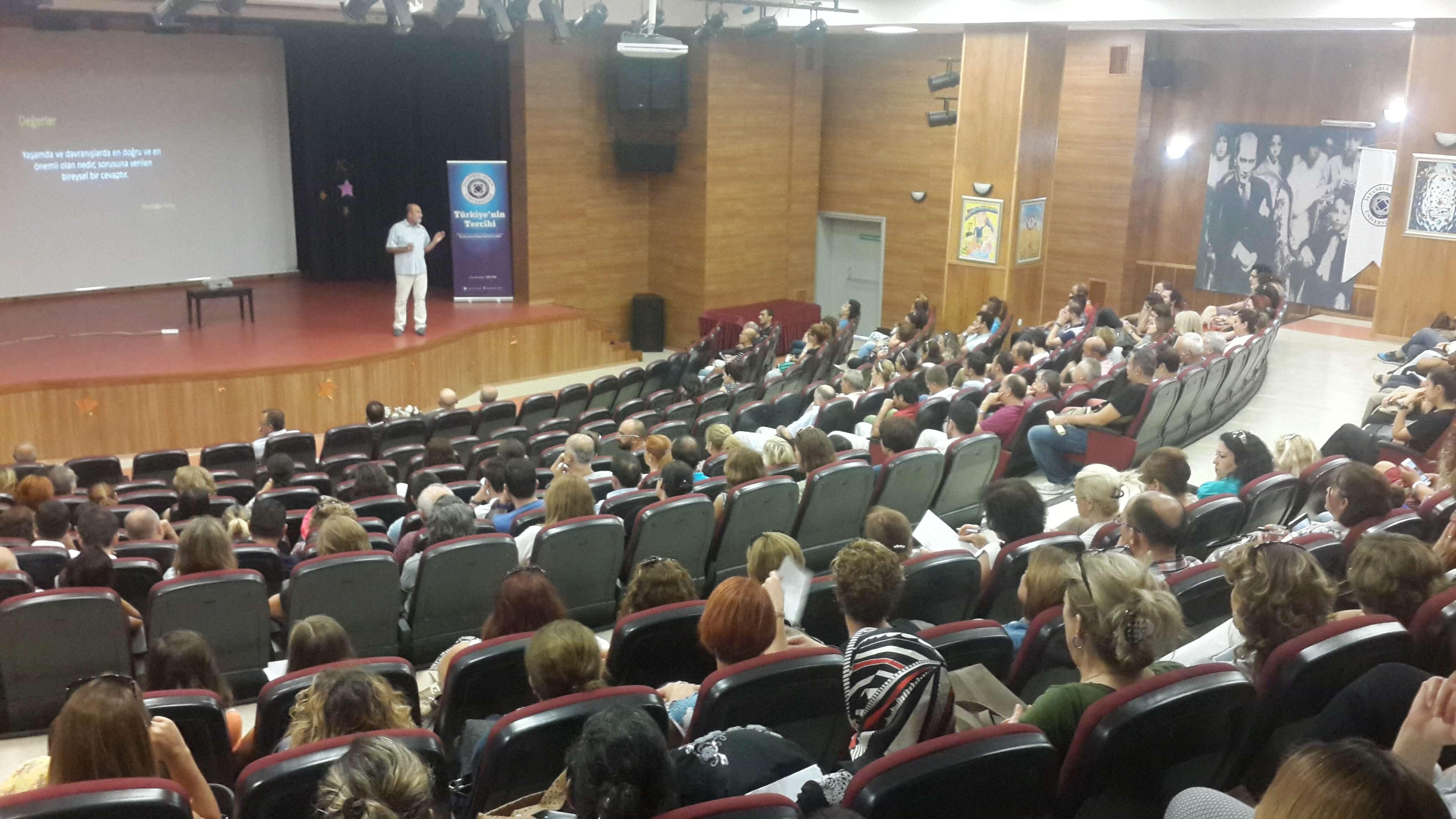 Okulumuz Sosyolog Yazar Nurdoğan Arkış'ı Konuk Etti