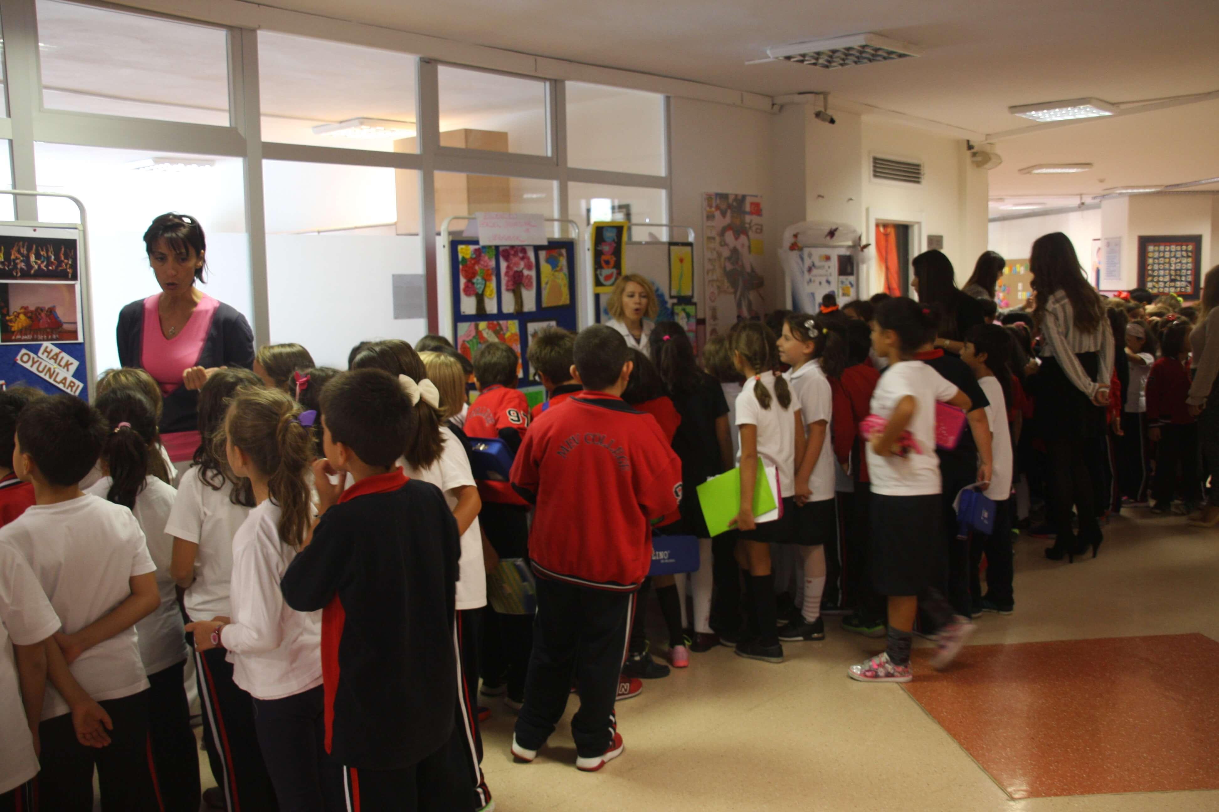 İlkokul Sınıflarımıza Okulumuzun Kulüpleri Tanıtıldı