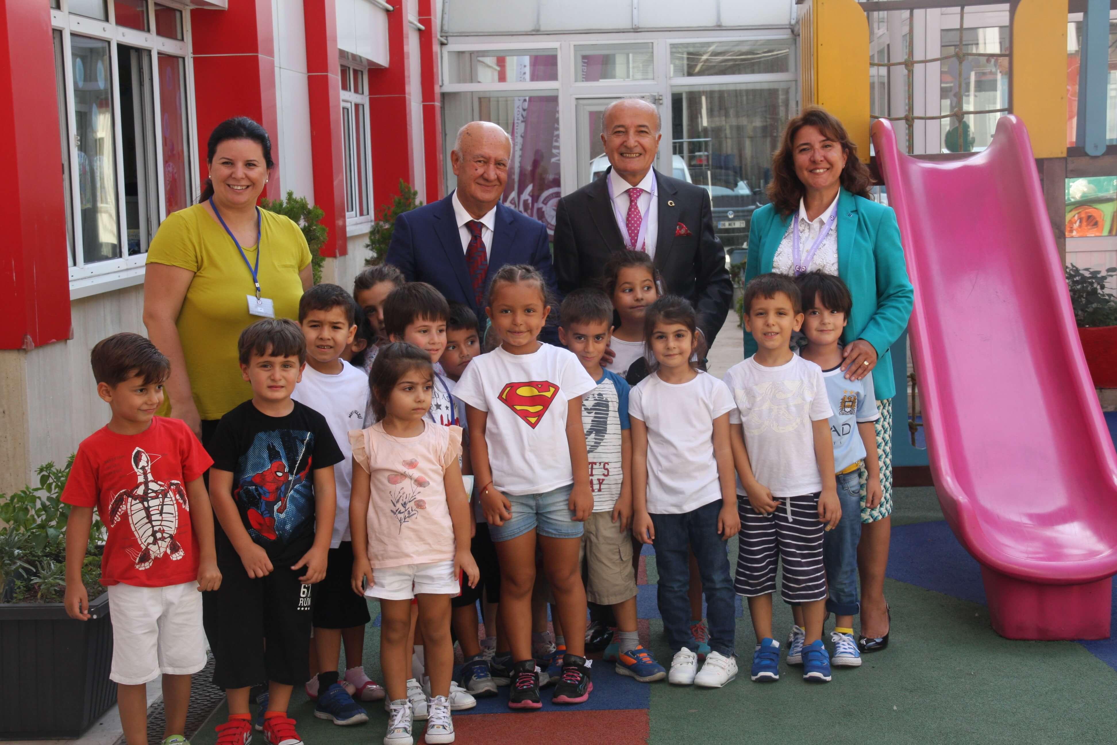 MEV Yönetim Kurulu Üyemiz Sayın Mehmet Temel Okulumuzu Ziyaret Etti