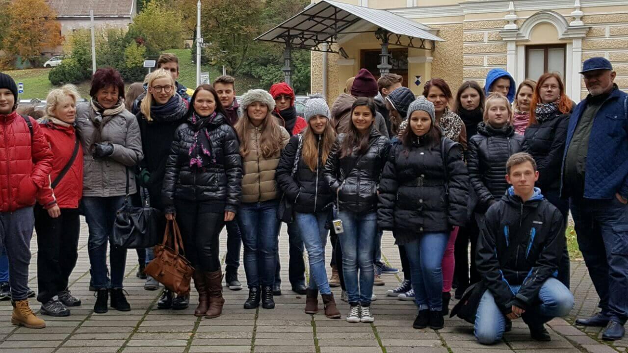 Erasmus Plus Proje Toplantısı'na Katılan Öğrencilerimiz İkinci Günlerinde Kaunas'daydı