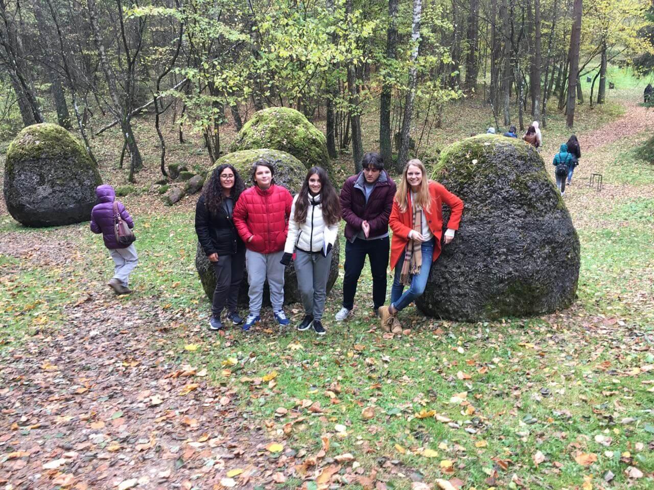 Erasmus Plus Proje Toplantısı'na Katılan Öğrencilerimiz Beşinci Günlerinde Vilnius'daydı