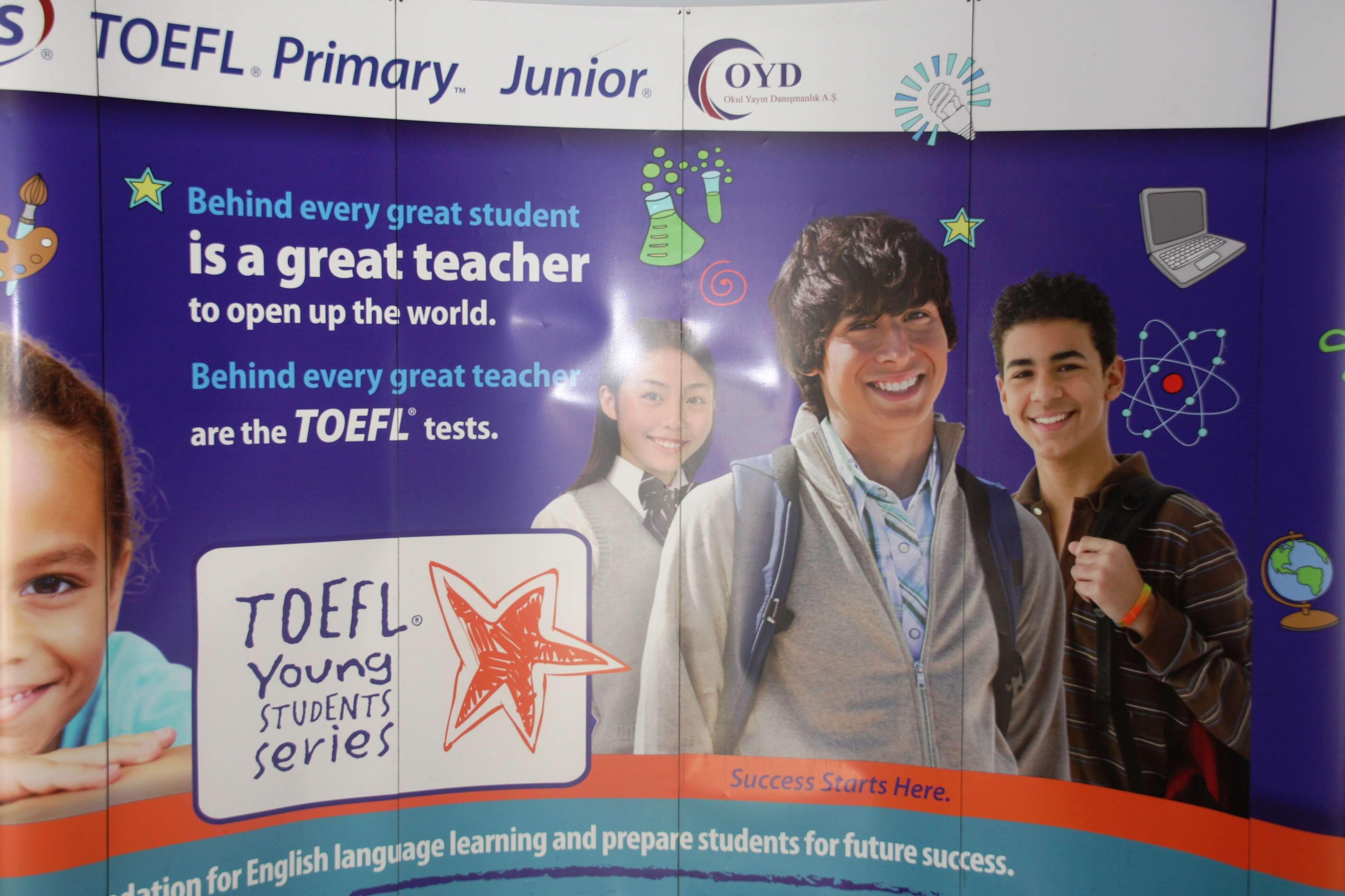 Öğrencilerimizin TOEFL Sınavı Heyecanı