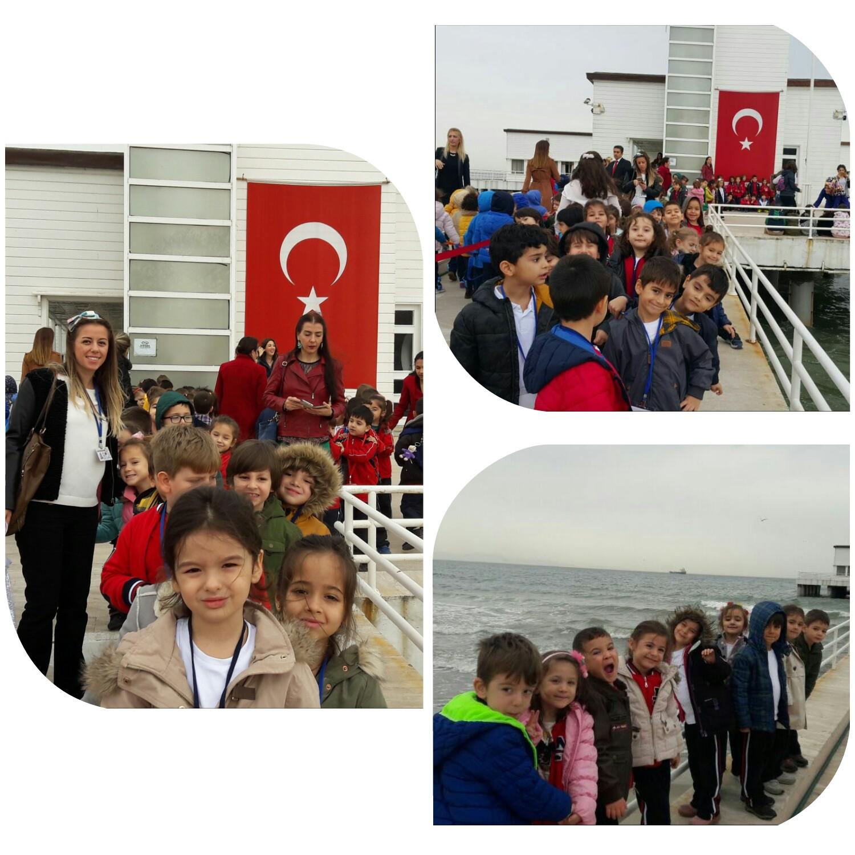 Anasınıflarımız Florya Atatürk Deniz Köşkü'ne Ziyarete Gittiler