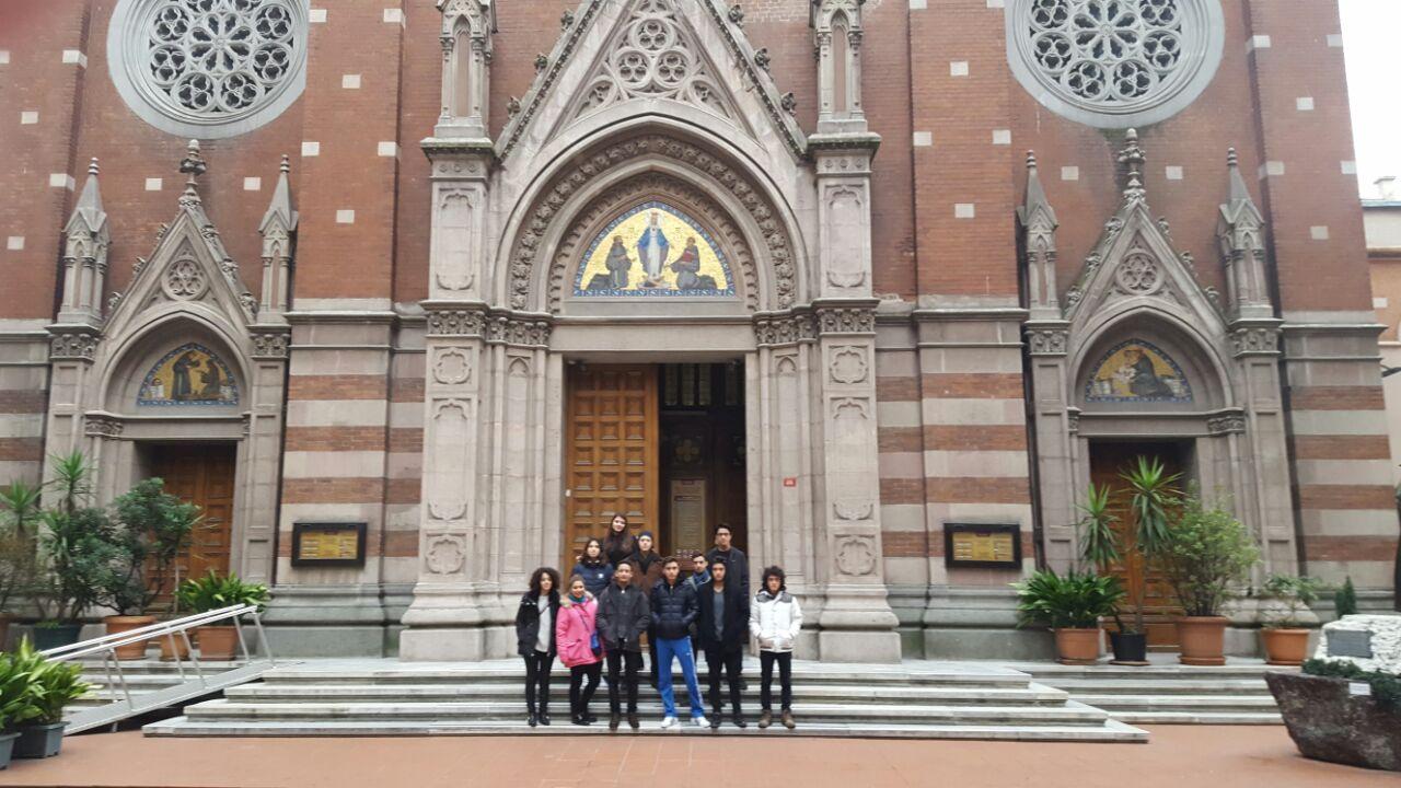Anadolu Lisesi Öğrencilerimiz Beyoğlu Avrupa İzleri Konulu Projeye Katıldılar