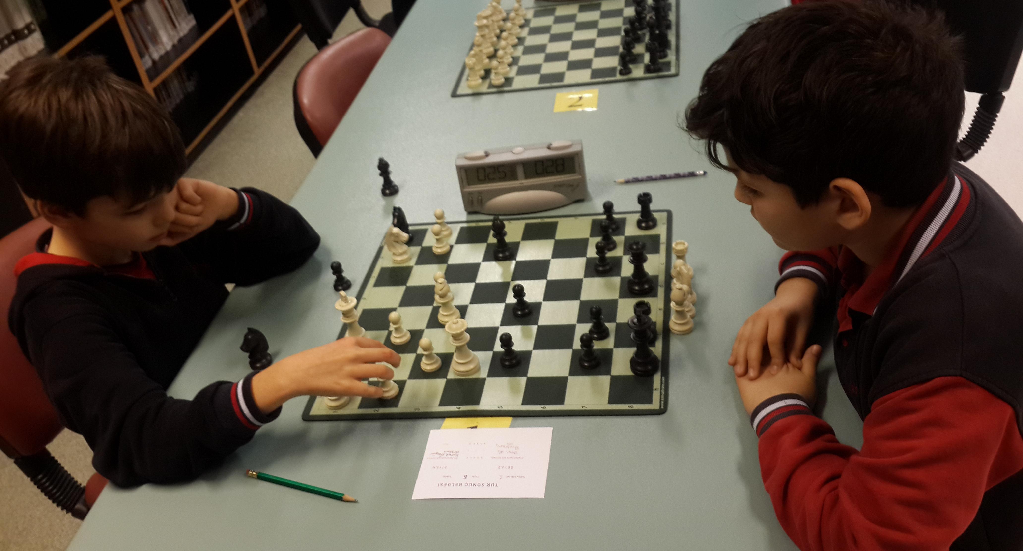 Satranç Turnuvamızın Finalistleri Belli Oldu