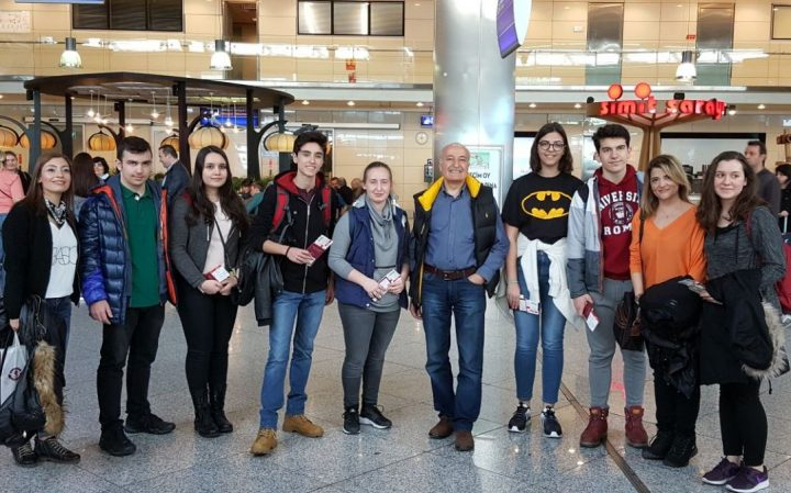 Erasmus Plus Projesi için Çekya'nın Opava Şehrine Yolculuğumuz Başladı