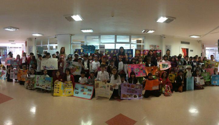 İlkokul 3. Sınıf Öğrencilerimiz Türkiye'mizin Bölgelerini Tanıttılar