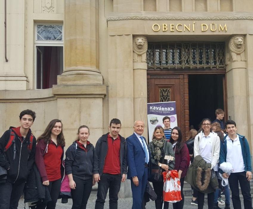 Erasmus Plus Projesine Katılan Grubumuzun Çekya'da İlk Günü