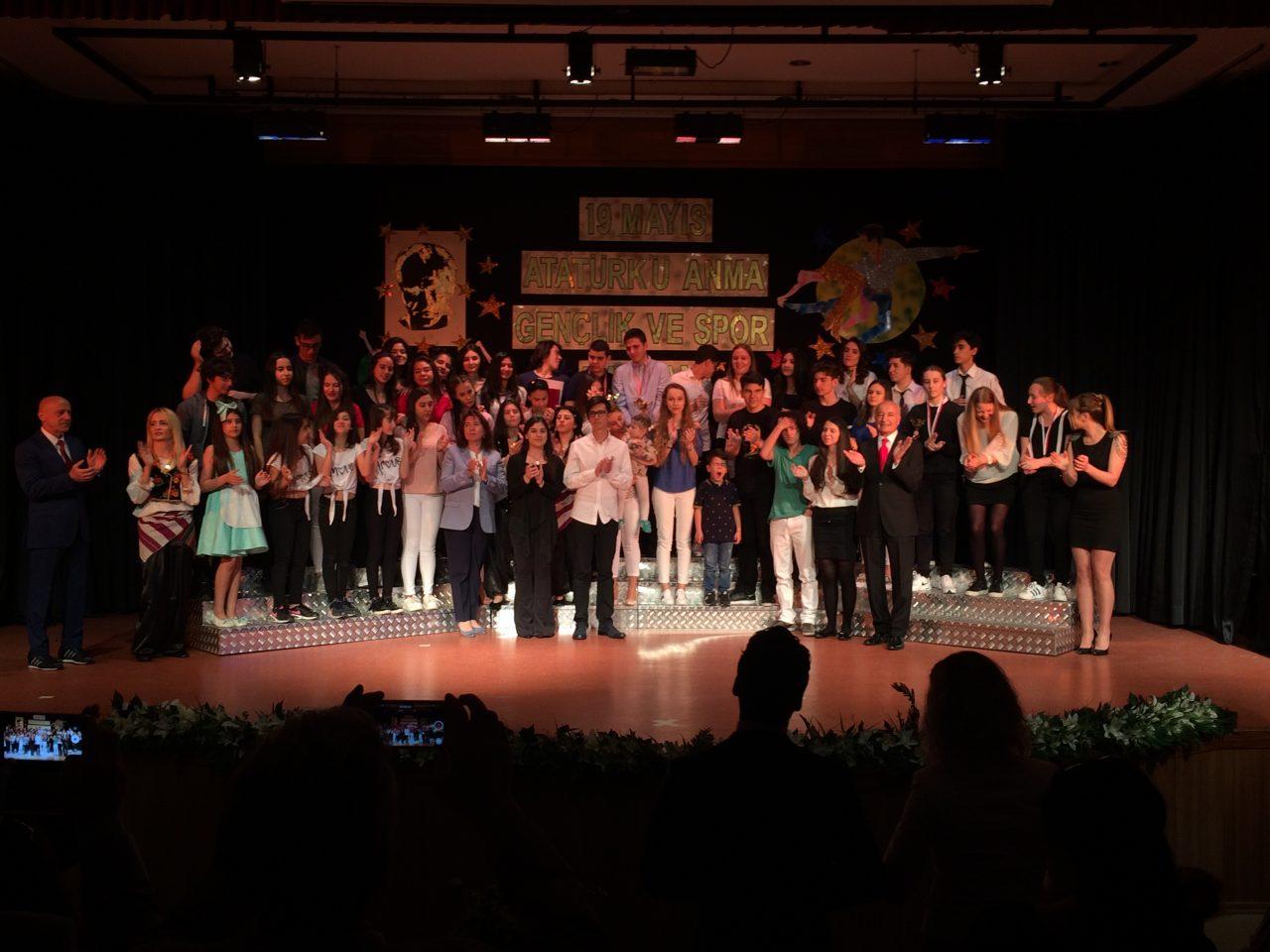 19 Mayıs Atatürk'ü Anma Gençlik ve Spor Bayramı Törenimizi Coşkuyla Kutladık