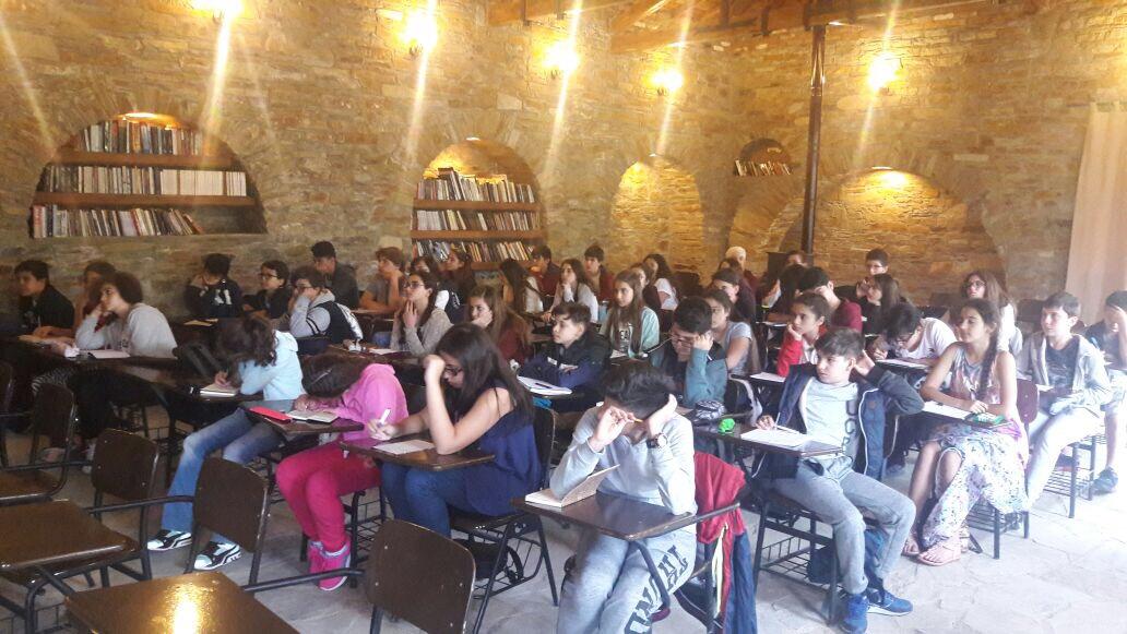 Öğrencilerimiz Şirince Nesin Matematik Köyü'nde