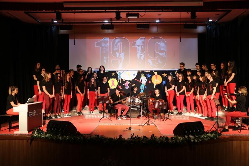 19 Mayıs Atatürk'ü Anma ve Gençlik ve Spor Bayramımızı Coşkuyla Kutladık