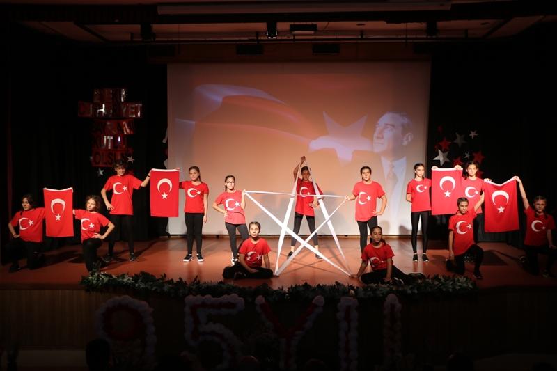 29 Ekim Cumhuriyet Bayramımızın 95. Yıl Dönümünü Coşku ve Gururla Kutladık