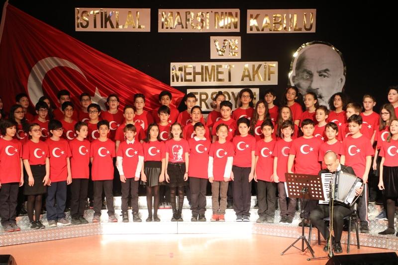 İstiklal Marşı'mızın TBMM'de Kabulünün 98. Yıl Dönümünü Kutladık
