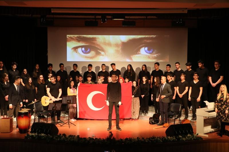 18 Mart Şehitleri Anma Günü ve Çanakkale Zaferi Töreni'mizde Duygu Dolu Anlar Yaşadık