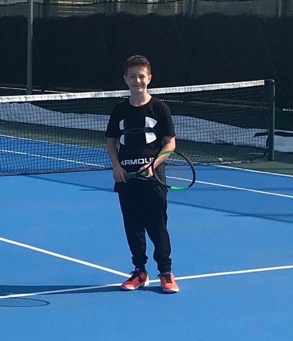 Öğrencimiz Tenis Müsabakalarında İlçe İkincisi Oldu