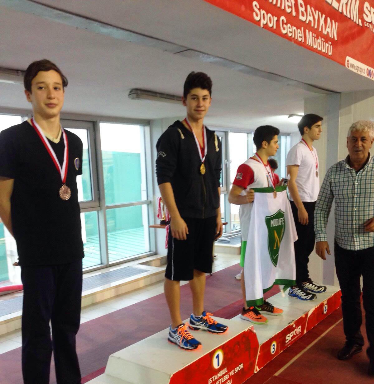 Yüzücü Öğrencimiz Türkiye Rekoru Kırdı