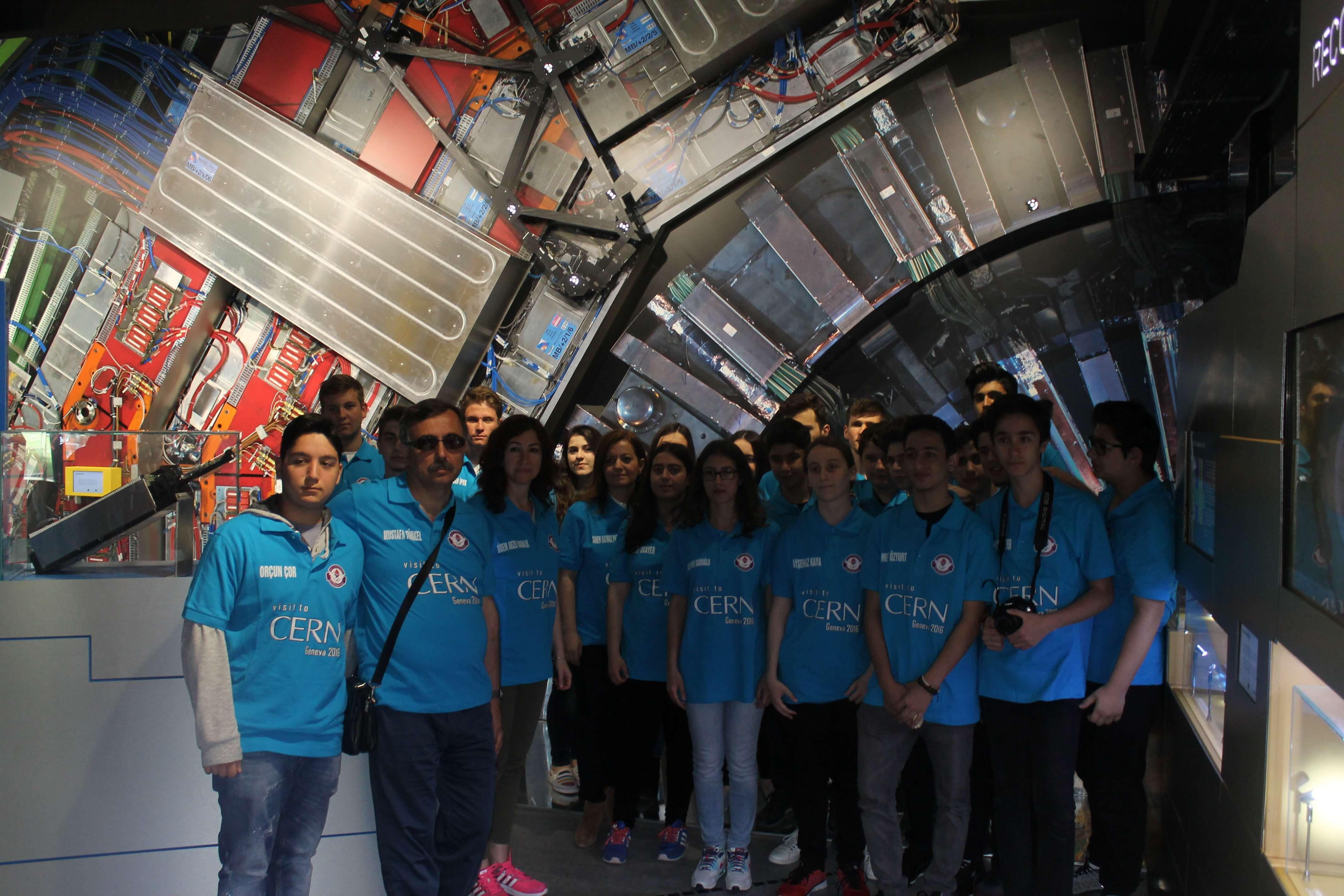 CERN (Avrupa Nükleer Araştırma Merkezi) Gezisi