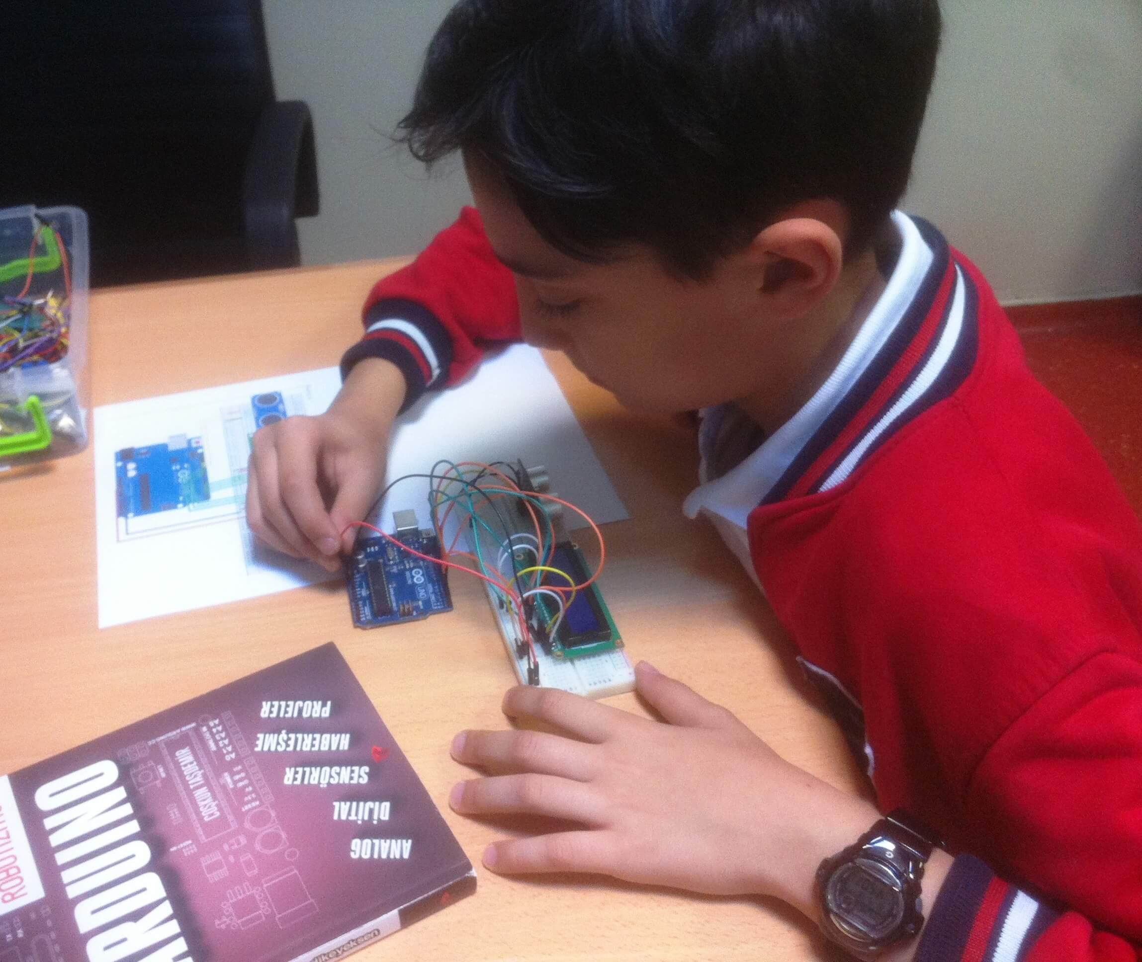 Maker&Coder Öğrencilerimiz Arduino İle Kodladılar