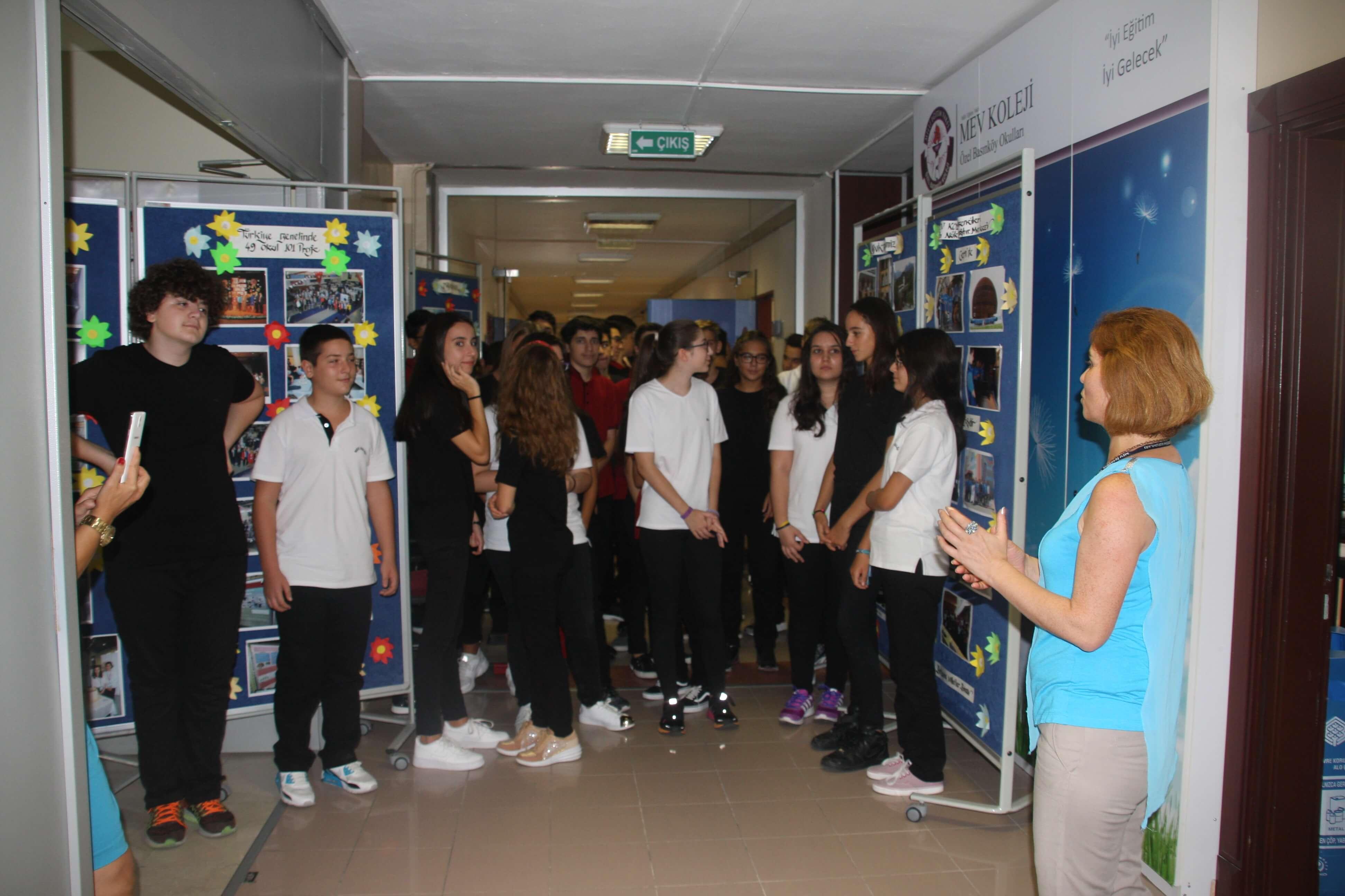 9. Sınıf Öğrencilerimiz Oryantasyon Programı Kapsamında Okulumuzu Gezdi