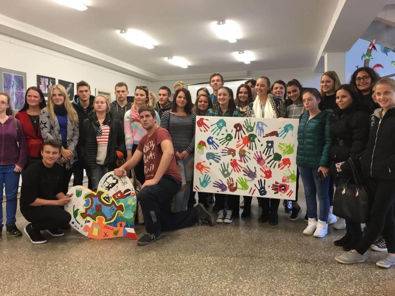 Erasmus Plus Proje Toplantısı'na Katılan Öğrencilerimiz 4. Günde Litvanya'nın Kedainai Şehrindeydiler