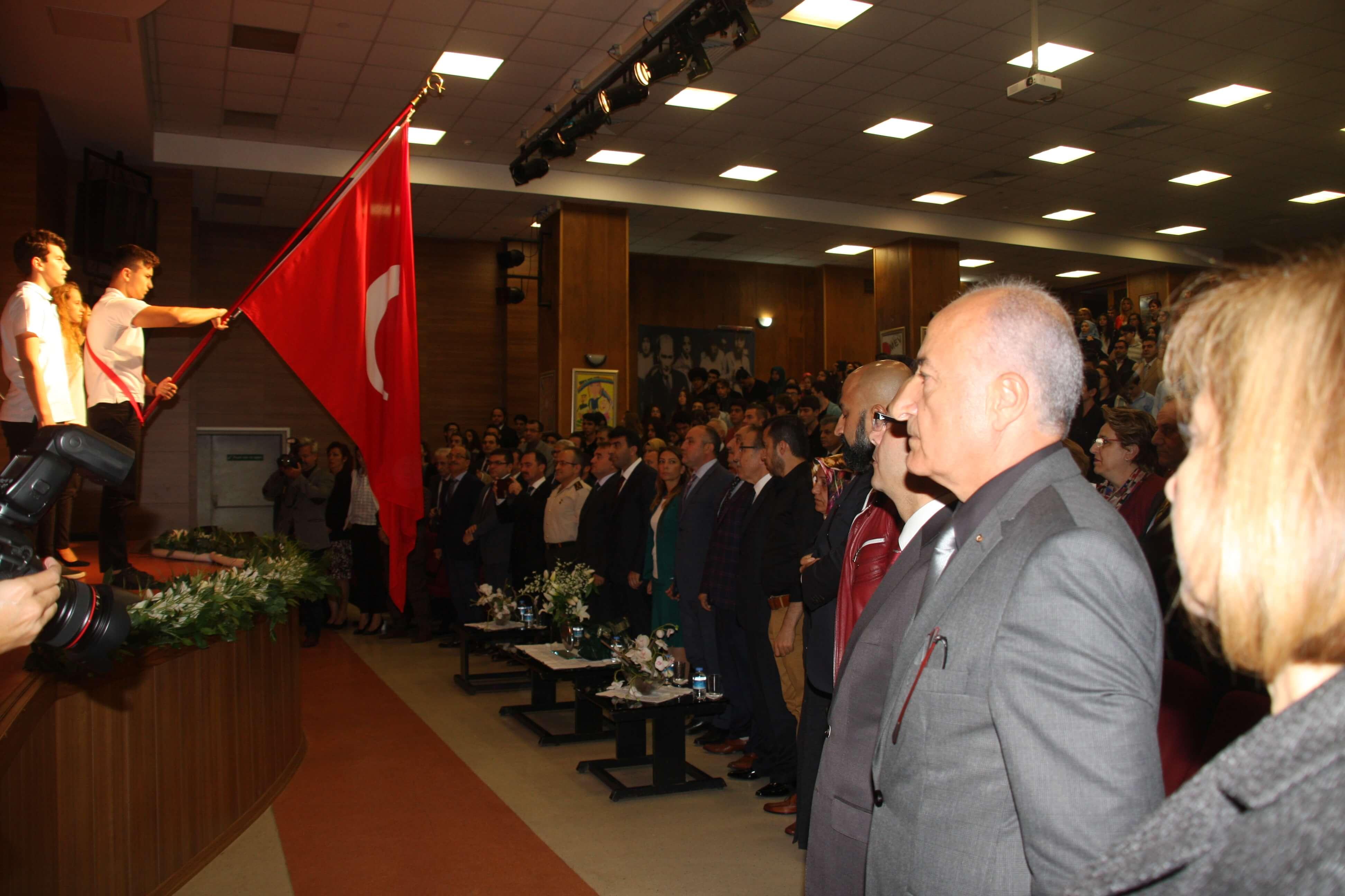 """""""15 Temmuz Demokrasi Şehitlerini Anma Programı"""" Okulumuzda Gerçekleşti"""