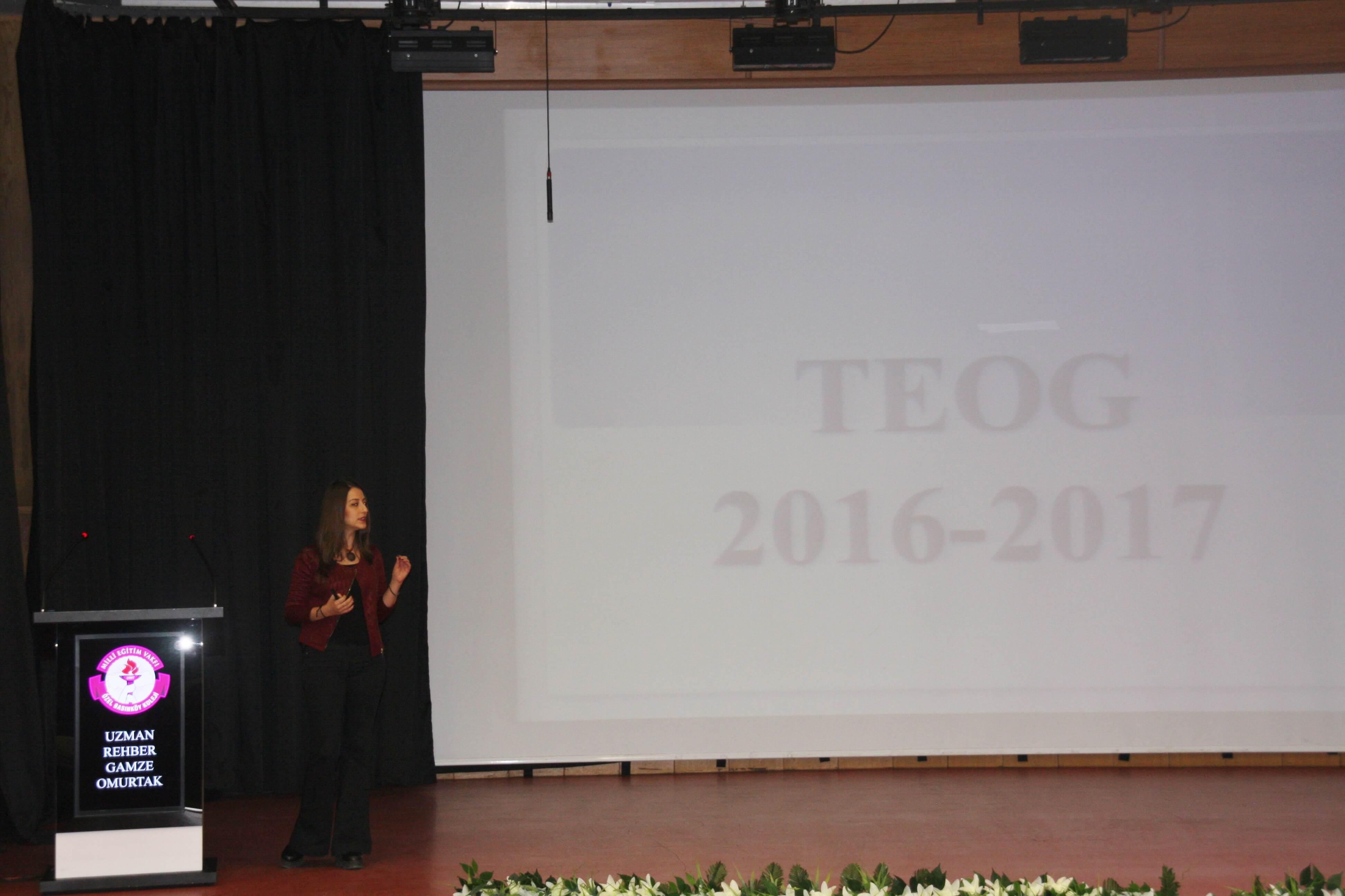 """Velilerimize """"TEOG Sınav Sistemi"""" Hakkında Seminer Düzenlendi"""