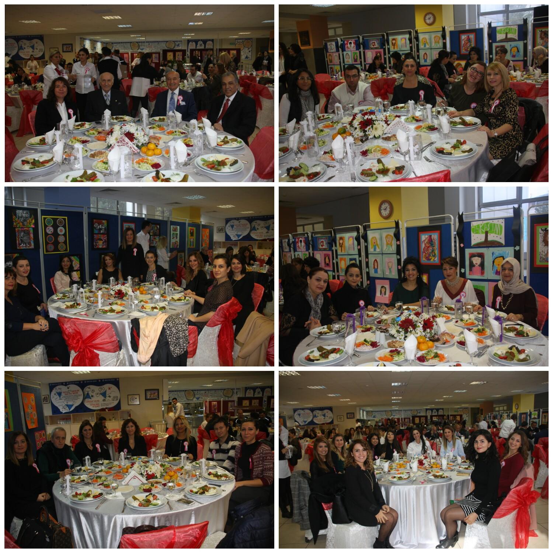 24 Kasım Öğretmenler Günü Kutlama Yemeğimiz Öğretmenlerimizin Katılımı ile Gerçekleşti