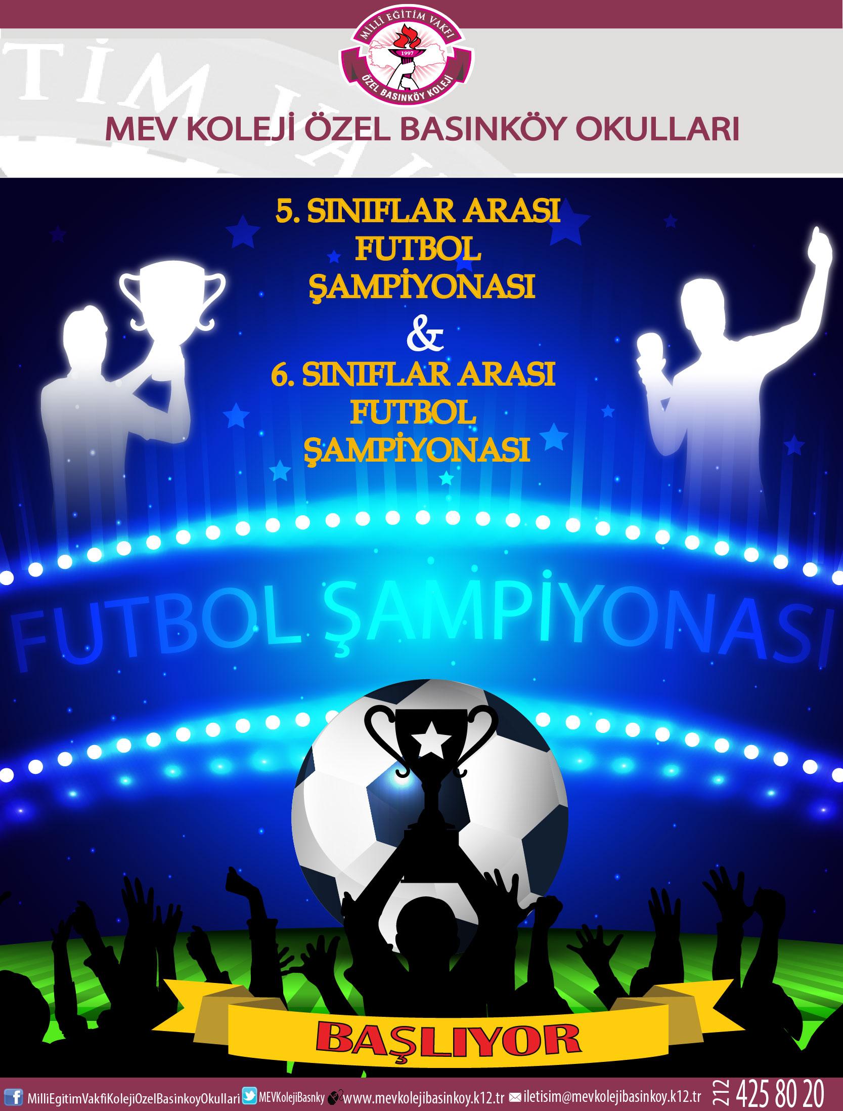 Sınıflar Arası Futbol Şampiyonası Başlıyor