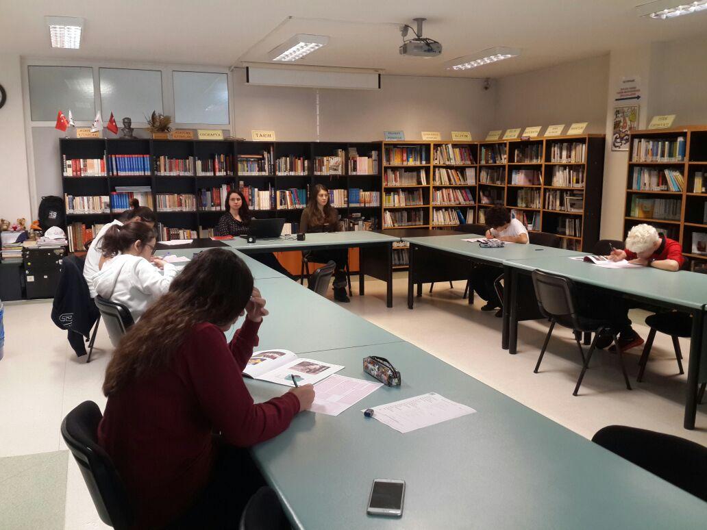 Öğrencilerimiz Kültürlerarası Lise Öğrenci Değişim Programları'na Katılmak için PLEP Yabancı Dil Seviye Belirleme Sınavı'na Girdiler