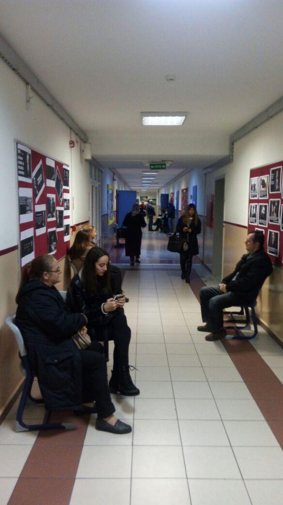 Anadolu Lisesi 1. Dönem Ara Karne Veli Toplantısı Gerçekleşti
