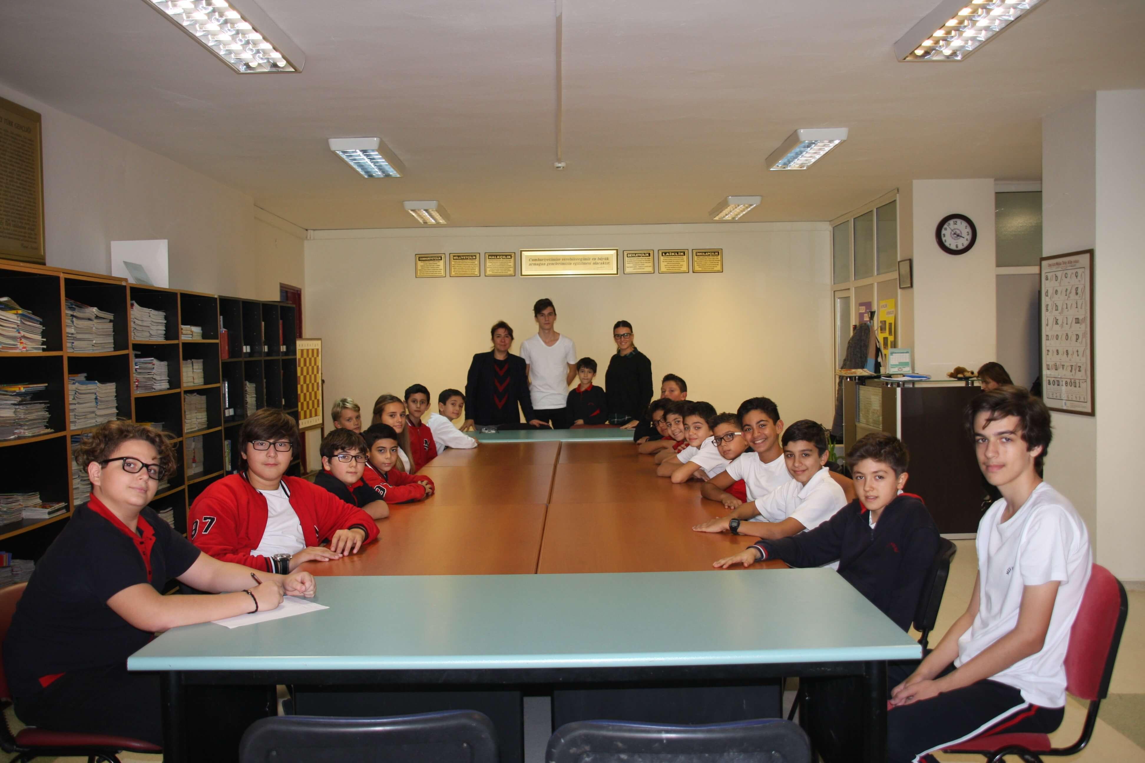 İlkokul ve Ortaokul Öğrenci Meclis Başkanları ve Sınıf Temsilcileri ilk Toplantılarını Gerçekleştirdi