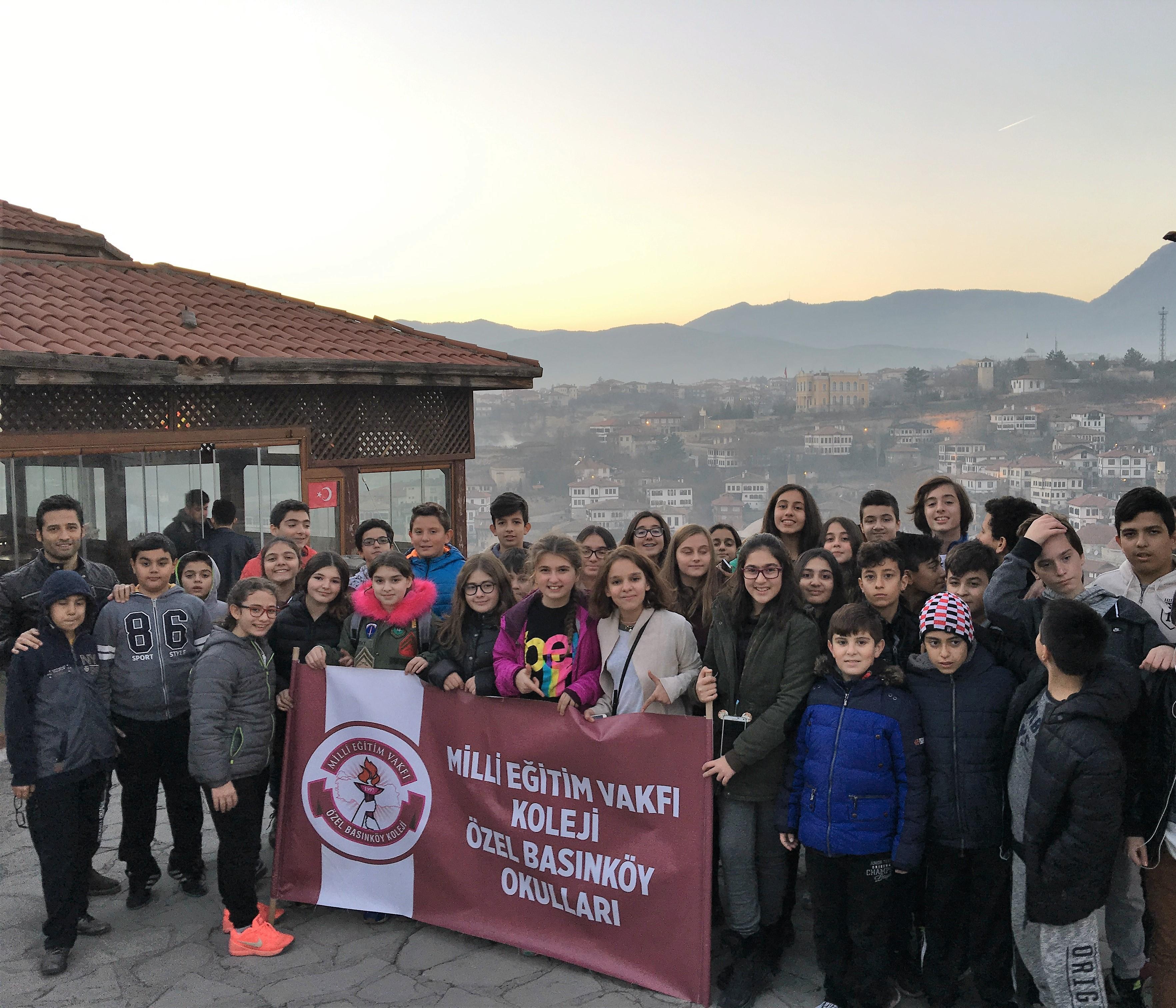 6. ve 7. Sınıf Öğrencilerimiz Batı Karadeniz-Safranbolu Gezisi'ne Katıldılar