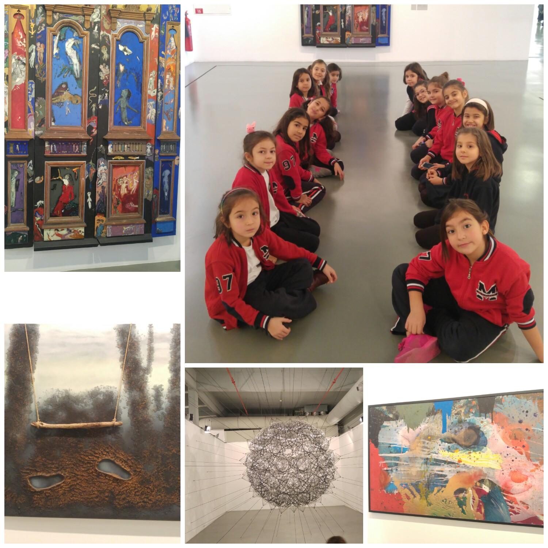 2. ve 3. Sınıf Öğrencilerimiz İstanbul Modern Sanatlar Müzesi Gezisine Katıldılar