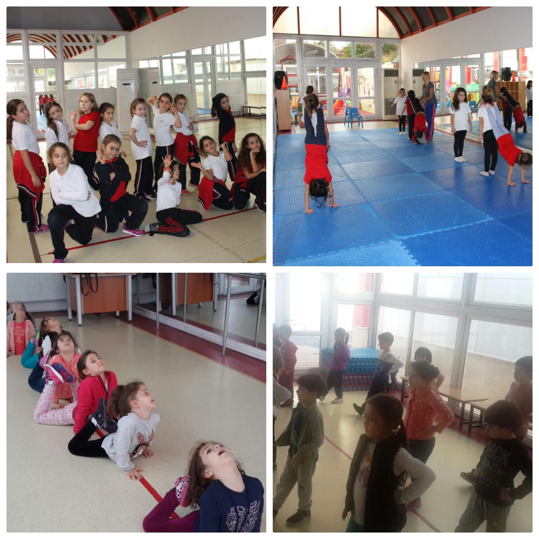 Öğrencilerimiz Dans ile Daha Sosyal Daha Pozitifler