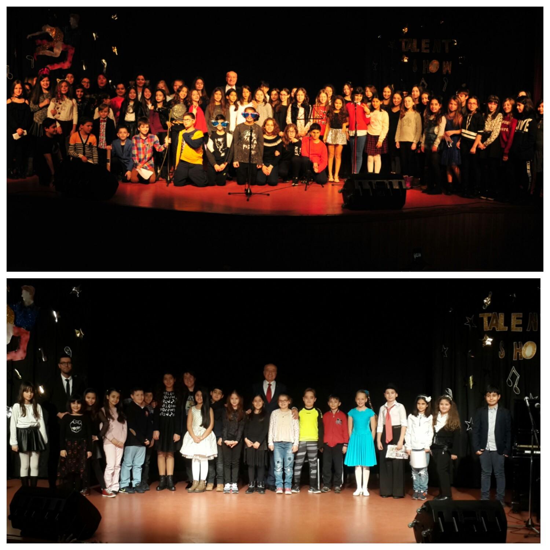Talent Show ile Öğrencilerimiz Yeteneklerini Sergiledi