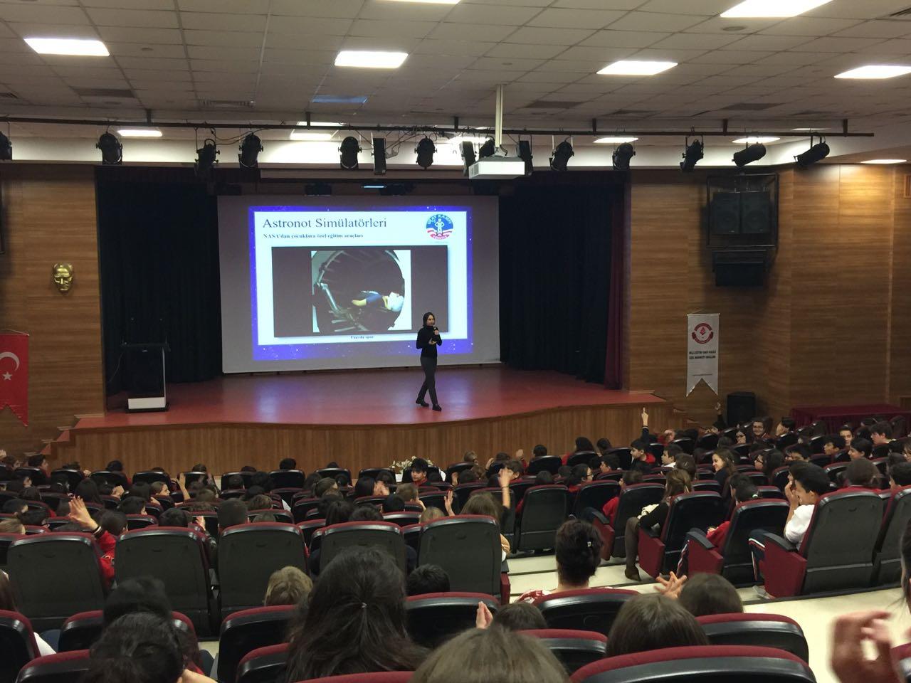 Öğrencilerimize İzmir Uzay Kampı ile İlgili Bilgi Verildi