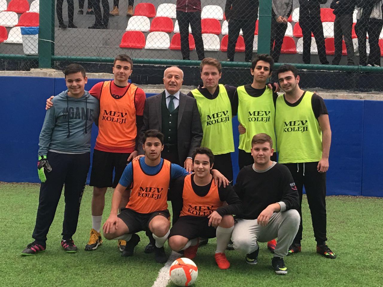 Anadolu Lisesi Sınıflar Arası Futbol Turnuvasında Şampiyon Belli Oldu