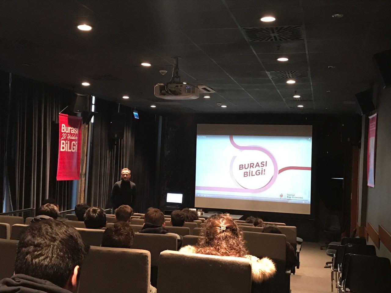 11. Sınıf Öğrencilerimiz İstanbul Bilgi Üniversitesi Santral Kampüsünde Üniversite ve Meslek Tanıtımı Seminerine Katıldı