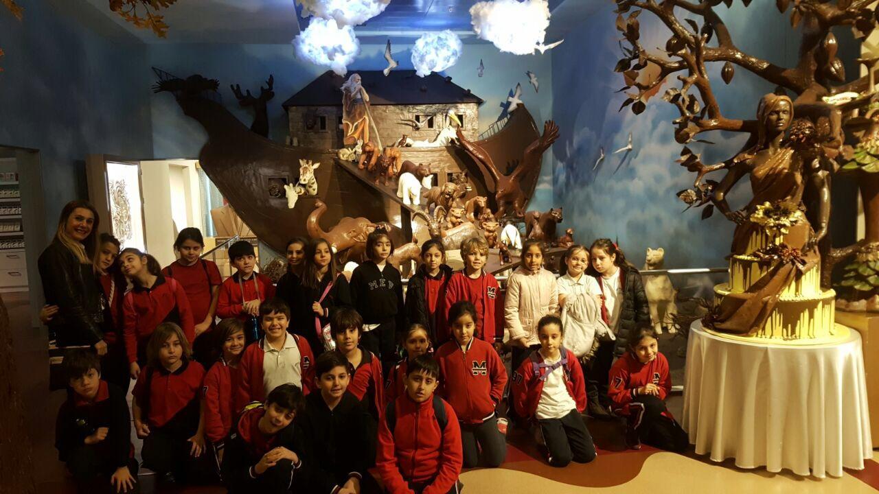 3. Sınıf Öğrencilerimiz Pelit Çikolata Müzesi'ni Gezdiler