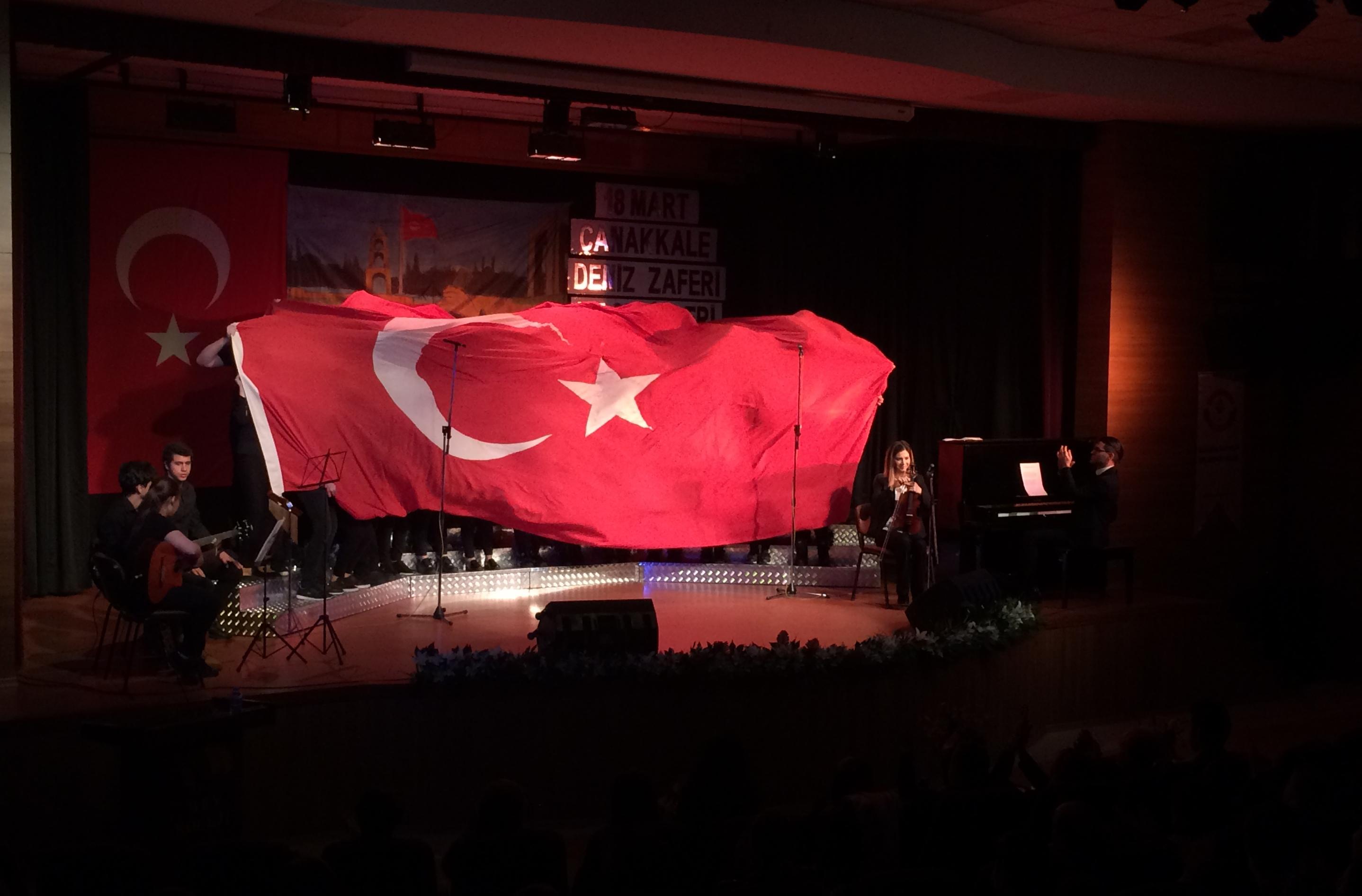 18 Mart Çanakkale Deniz Zaferi ve Şehitleri Anma Günü Töreni'nde Duygu Dolu Anlar Yaşadık