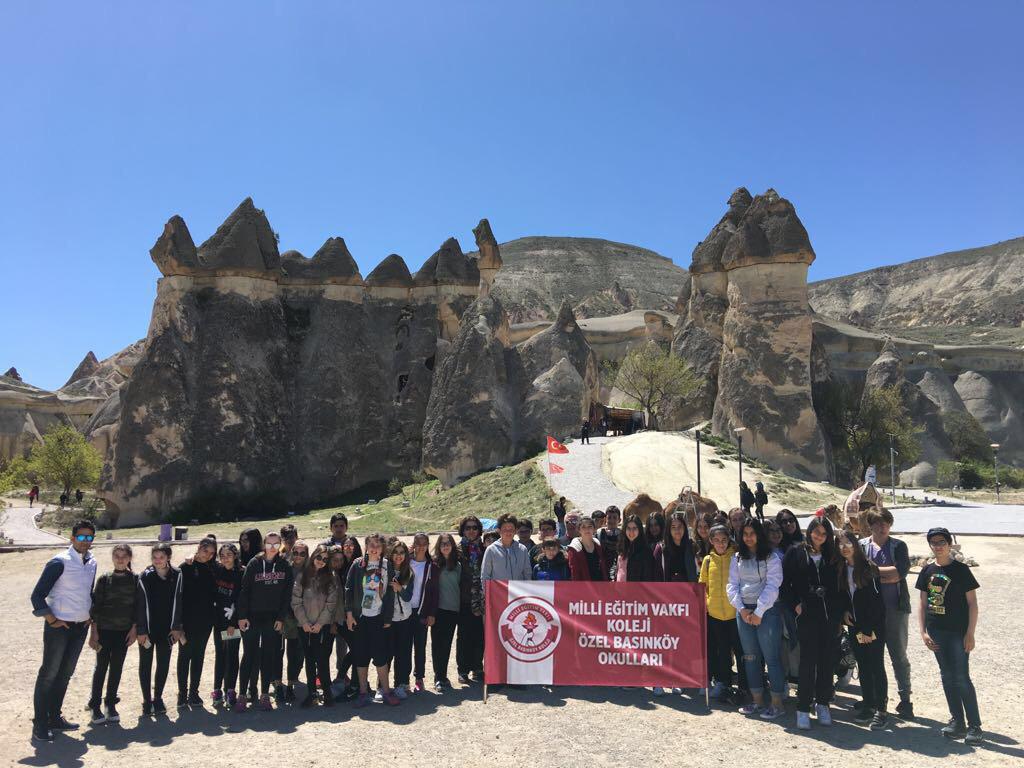 MEV Koleji Özel Basınköy Okulu Öğrencileri Kapadokya'da