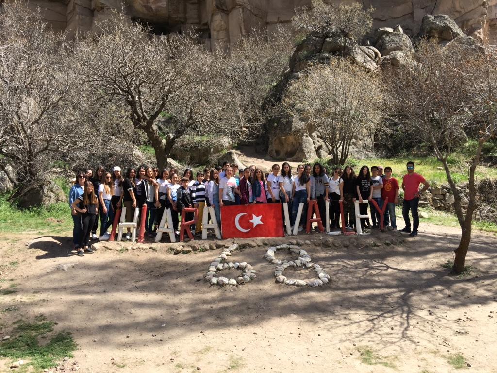 MEV Koleji Özel Basınköy Ortaokul Öğrencilerimiz Kapadokya'da